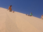 leisure in sand dunes